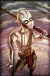 Avatar Monsters: Zombie Aang by Acaciathorn