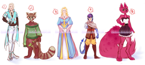 Character Redux Adopts #1 {1/5 OPEN} DISCOUNT by Geinkotsu