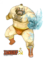 Zangief by beardrooler