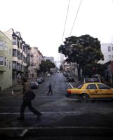 San Francisco Streets by veronicagibson