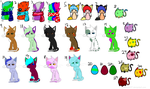 Adopt Sheet ONE LEFT! by Tori-Adopts