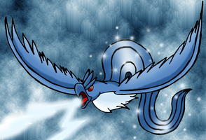 The Titan of ice-Articuno by Ho-ohLover