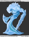 Quick Monster: Ice Water Skirmisher by Canada-Guy-Eh