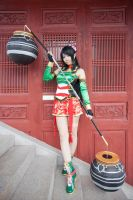 Dynasty Warriors 8 - Guan Yinping by JJeris