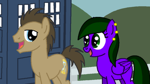 Doctor Whooves and Storm Screamer by LR-Studios