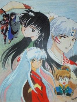 inuyasha by newenthe
