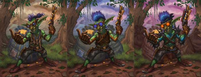 Goblin Looter - Upgrade States by b-nine