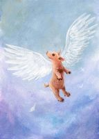 Pigs Do Fly by sobeyondthis