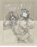 Sho'nuff! by saltares