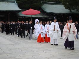 Traditional Japanese Wedding 2 by M3DITATE