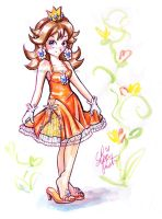Party Dress Daisy by LemiaCrescent