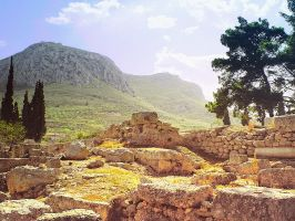 Ancient Land (Greece) by Liudochka