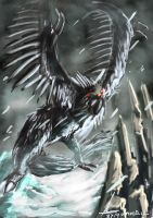 RWBY: Giant Nevermore by WAmirul