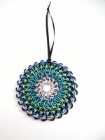Chainmail Dream Catcher - Frontal View by SerenityinChains