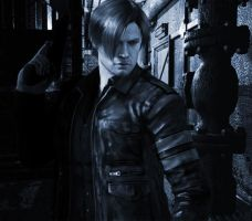 RE6 - leon 2 by cyber-rayne