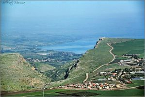 View to the Arbel valley by ShlomitMessica