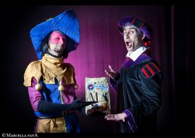 Clopin and Frollo by FraSoldiers