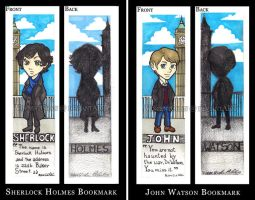 Sherlock BBC Bookmarks by VincentChan