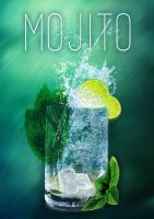 Mojito Cocktail by SalomeDesign