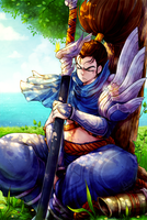 LoL: Yasuo the Unforgiven by KazeAi7