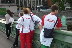 Polish Olympians in their natural habitat by ggeudraco