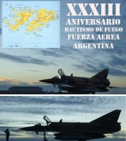 XXXIII Anniversary baptism of fire of the FAA by DingoPatagonico