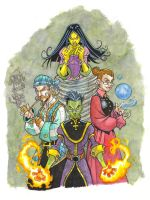 Witches and Warlocks of Oz by badgerlordstudios