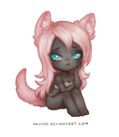 Experimental chibi commission by arhiee