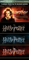 Fantastic texts effects inspired in Harry Potter! by RafaelGiovannini