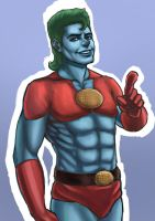 Captain Planet by AKAScene