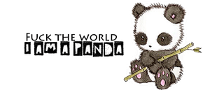 I am a panda~ by AliceShionji