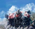 Three Little Pigs by XiaoBotong