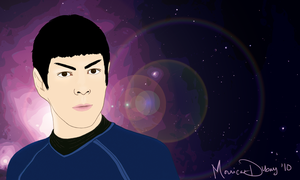 Young Spock by quantumparadigm