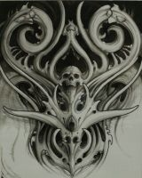 biomechanical by ChrisReedtattoo