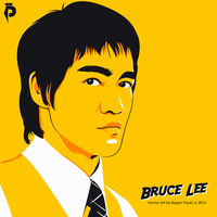 Bruce Lee by paolotrent