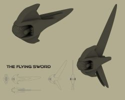 SWORD SHIP by Buchio
