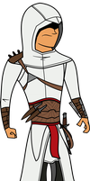 Altair - Assassins Creed by charlieXe