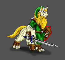 Link Lynel by Scatha-the-Worm