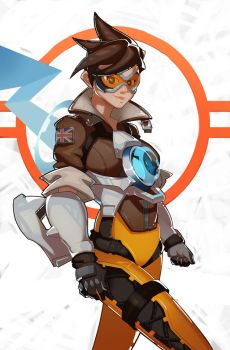 Overwatch Tracer by SplashBrush
