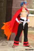 Kamina cosplay by HellishSavior