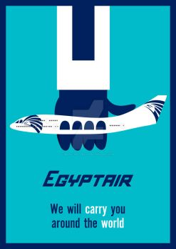 Egypt Air by MaRo-The-Artist