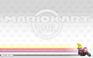 Mario Kart Wii Wallpaper Peach by cortjezter