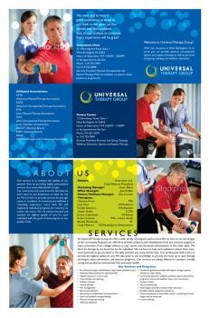 UTG Brochure by montgomeryq
