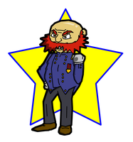 Ambrose Burnside by The-Bladed-Beast