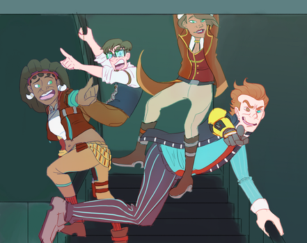 the trash squad by CalmingSoul