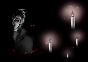 light of candles by Black-Umi