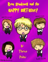 Harry Potter 6 Birthday card by TheReza13