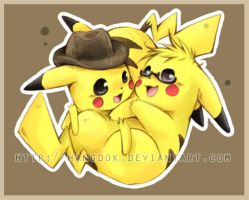 Commission12 : Pikachus by hangdok