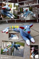 Sonoke Plushie finished by AzureHowlShilach