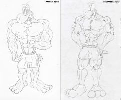 [Comparison] Muscle anatomy (2010-2012) by McTaylis